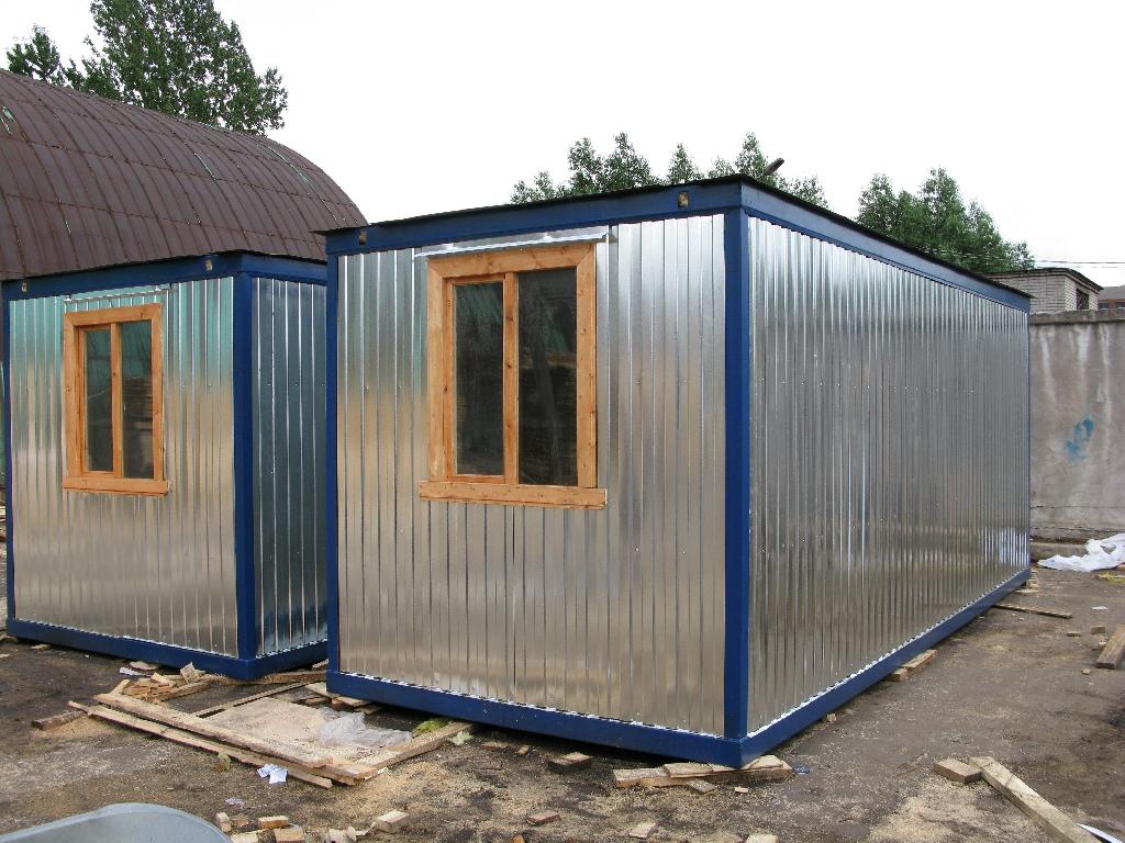 """Строительный блок-контейнер """"1 комната"""""""