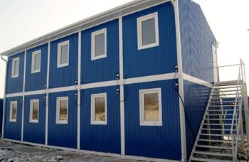 Модульные здания из блок-контейнеров: разновидности и область применения