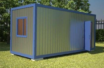 Блок контейнер для дачи