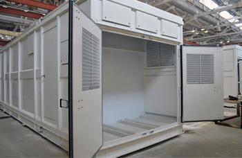 Блок контейнер для оборудования