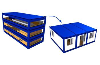 Блок контейнер сборный