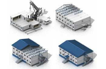 Строительство модульных зданий: поэтапная последовательность