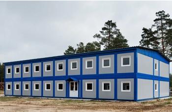 Строительство вахтовых поселков из блок-контейнеров