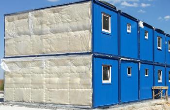 Утепление модульных зданий и материалы для теплоизоляции