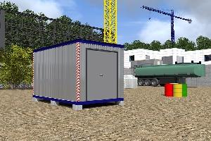 Пункт агрегатного ремонта 3,8х2,4 м