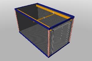 Пункт агрегатного ремонта 3,8х2,4 м, фото №2