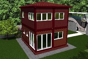 Бильярдный домик-1, фото №2