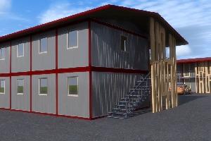 Модульное здание мотель, фото №2