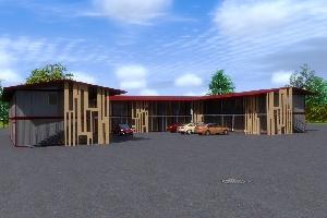 Модульное здание мотель, фото №4