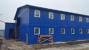 Модульное здание для проживания