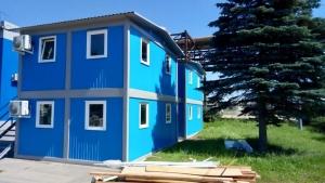 Серия модульных зданий