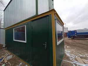 Блок-контейнер проходная 6000*2400*2400мм, фото №3