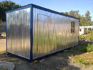 Бытовка строительная БК-1 (без перегородок) 6,0х2,4 м, фото №8