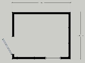 Блокпост «Вахта-3» 3,0x2,4 м