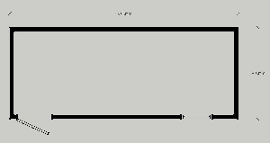 Бытовка строительная БК-1 (без перегородок) 6,0х2,4 м, фото №2
