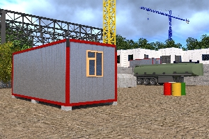 Бытовка строительная БКД-1 (без перегородок)  6,0х2,4 м, фото №6