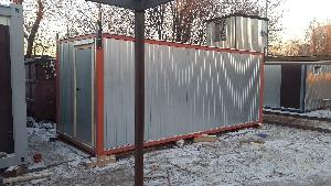 Бытовка строительная БКД-2 (с тамбуром) 6,0х2,4 м, фото №12