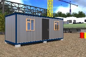 БК-3 Распашонка / 2 комнаты 6,0х2,4 м
