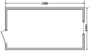 Бытовка сборно-разборная СРБК-1 6,0х2,4 м
