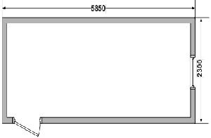 Бытовка сборно-разборная СРБК-1 6,0х2,4 м, фото №2