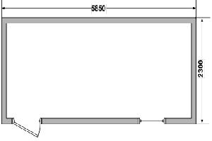 Бытовка сборно-разборная СРБК-1 6,0х2,4 м, фото №3