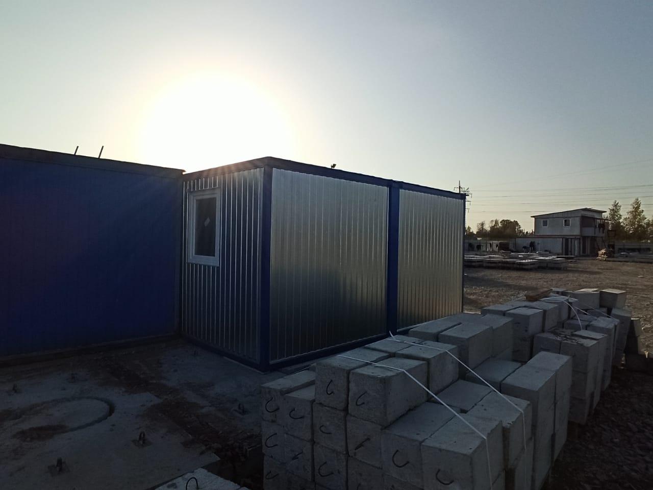 Модульное здание с монтажем, фото №5