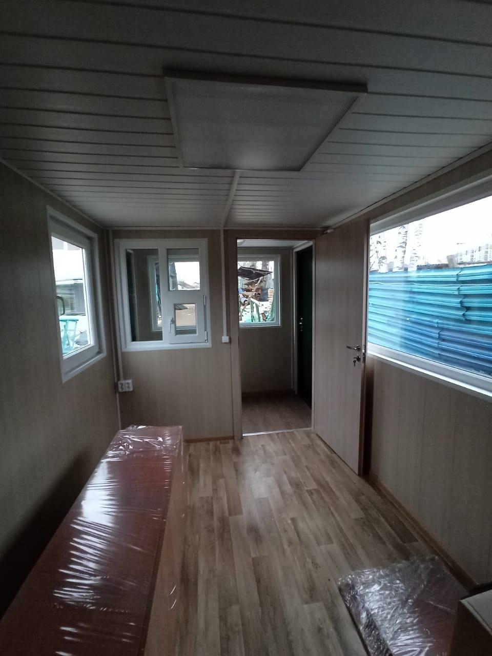 Блок-контейнер проходная 6000*2400*2400мм, фото №7